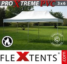Folding canopy Xtreme Heavy Duty 3x6 m, White