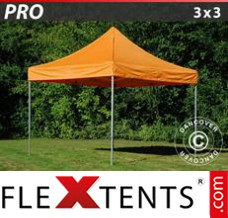 Folding canopy PRO 3x3 m Orange
