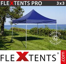 Folding canopy PRO 3x3 m Dark blue