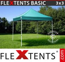 Folding canopy Basic, 3x3 m Green