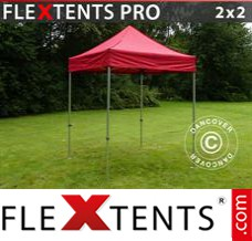 Folding canopy PRO 2x2 m Red