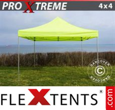 Folding canopy Xtreme 4x4 m Neon yellow/green