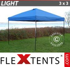 Folding canopy Light 3x3m Blue