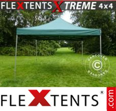 Folding canopy Xtreme 4x4 m Green