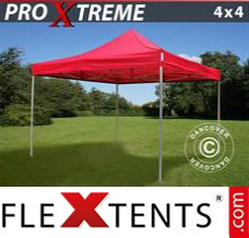 Folding canopy Xtreme 4x4 m Red