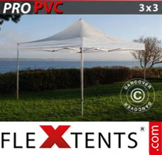 Folding canopy PRO 3x3 m Clear