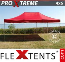Folding canopy Xtreme 4x6 m Red
