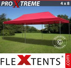 Folding canopy Xtreme 4x8 m Red