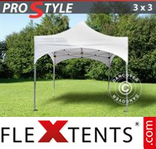 "Folding canopy PRO ""Arched"" 3x3 m White"