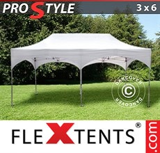 "Folding canopy PRO ""Arched"" 3x6 m White"