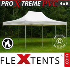 Folding canopy Xtreme Heavy Duty 4x6 m, White