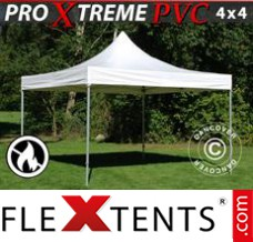 Folding canopy Xtreme Heavy Duty 4x4 m, White