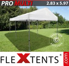 Folding canopy Multi 2.83x5.87 m White