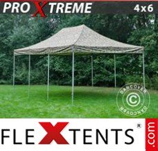 Folding canopy Xtreme 4x6 m Camouflage/Military