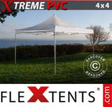 Folding canopy Xtreme 4x4 m Clear
