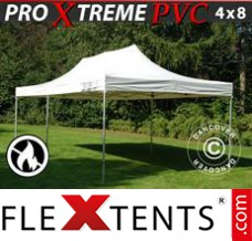 Folding canopy Xtreme Heavy Duty 4x8 m, White
