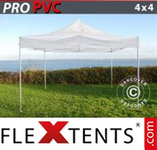 Folding canopy PRO 4x4 m Clear