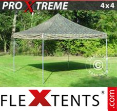 Folding canopy Xtreme 4x4 m Camouflage/Military