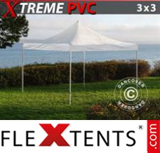 Folding canopy Xtreme 3x3 m Clear