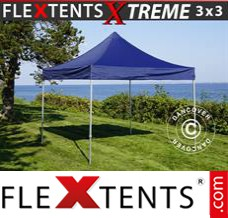 Folding canopy Xtreme 3x3 m Dark blue