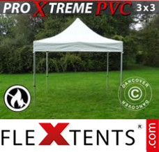 Folding canopy Xtreme Heavy Duty 3x3 m, White