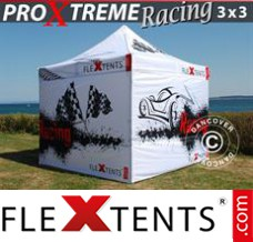 Folding canopy PRO Xtreme Racing 3x3 m, Limited edition