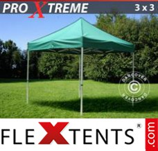 Folding canopy Xtreme 3x3 m Green