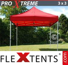 Folding canopy Xtreme 3x3 m Red