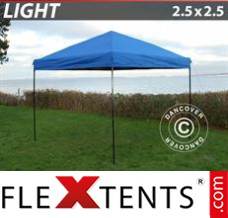 Folding canopy Light 2.5x2.5 m Blue