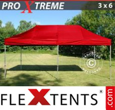 Folding canopy Xtreme 3x6 m Red