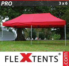 Folding canopy PRO 3x6 m Red