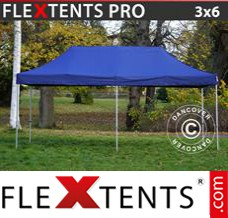 Folding canopy PRO 3x6 m Dark blue