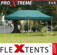 Folding canopy Xtreme 3x6 m Green