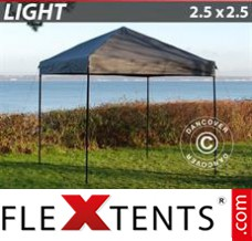 Folding canopy Light 2.5x2.5 m Grey